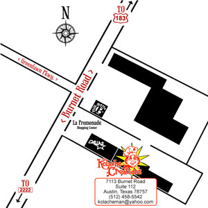 Map to Kolache Creations